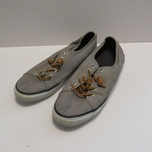 Sperry Top Siders Canvas Boat Shoes Sneakers 9M